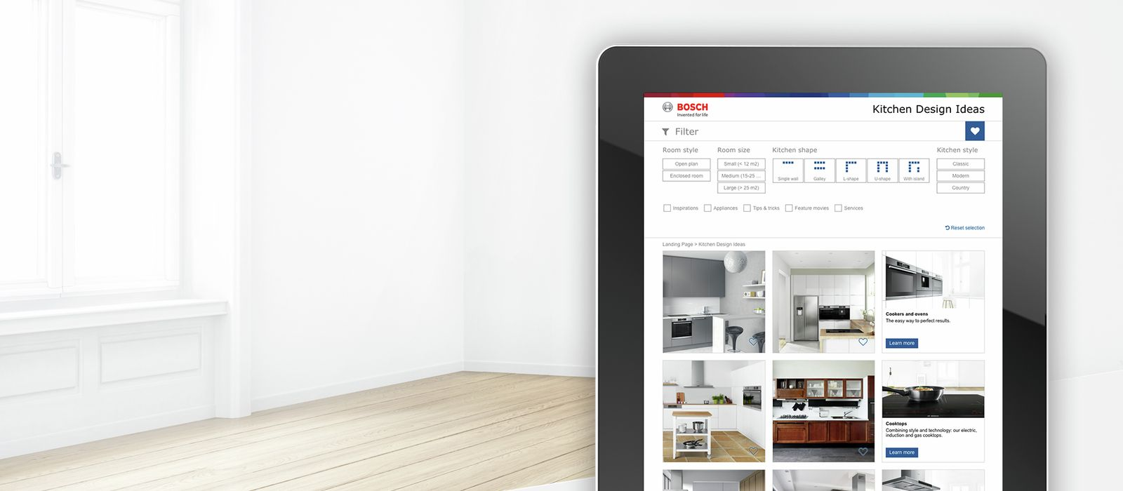 Bosch Kitchen Design Ideas - Planning, Ideas, Technologies - Bosch.