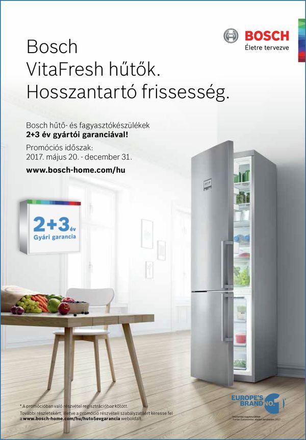 Hűtő 5 év gar