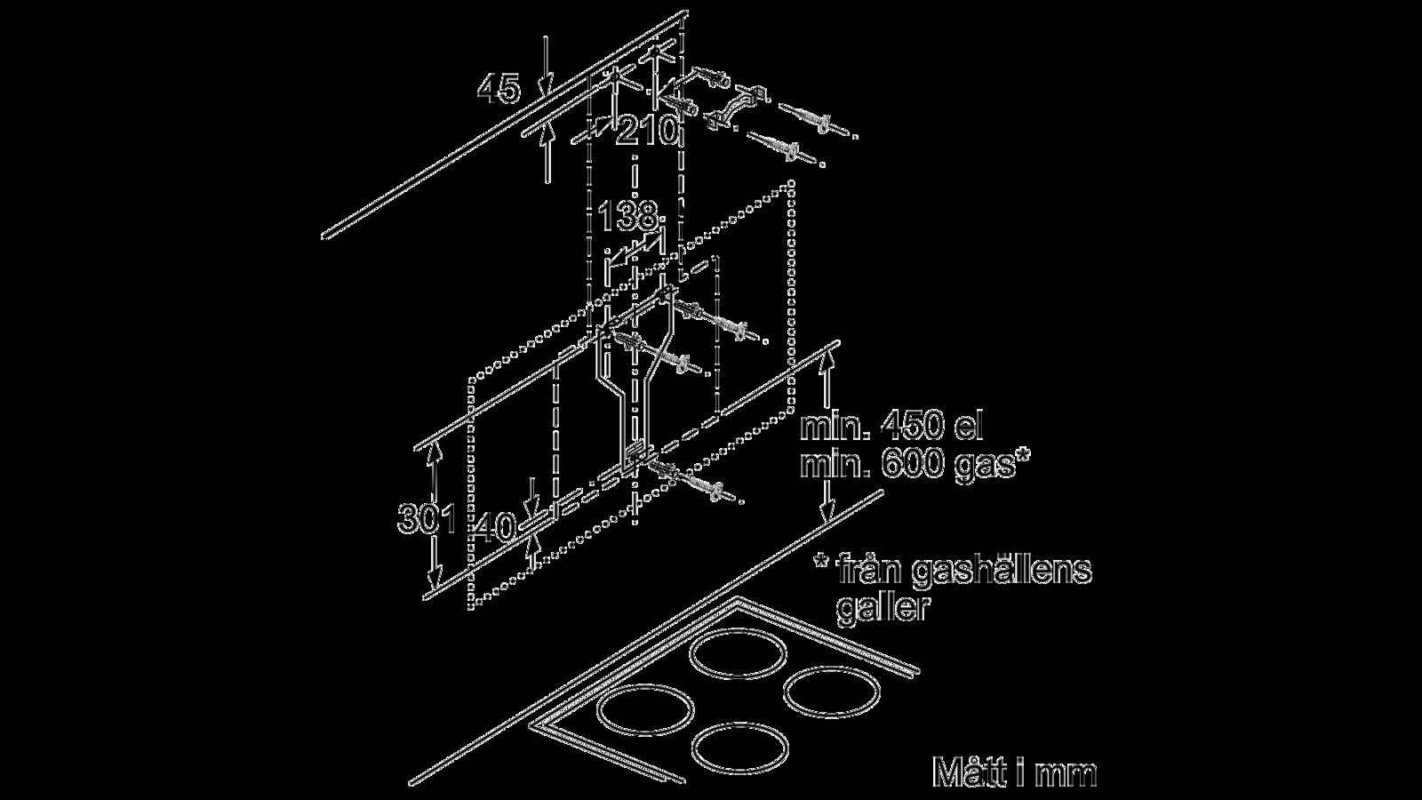 Köp Bosch Kolfilterfläkt DWK67HM60 Från 10 099 kr