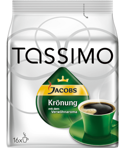 Tassen Jacobs Krönung : Kaffee tassimo quot jacobs kr?nung