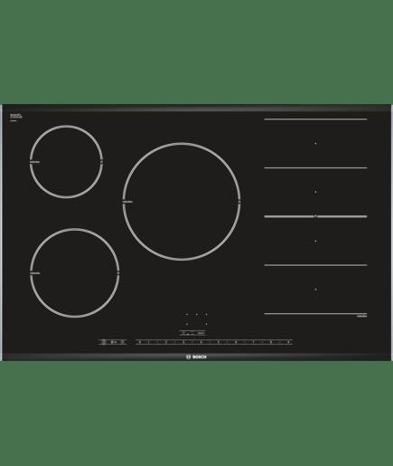 Piano cottura ad induzione 80 cm - vetroceramica - Serie | 8 ...
