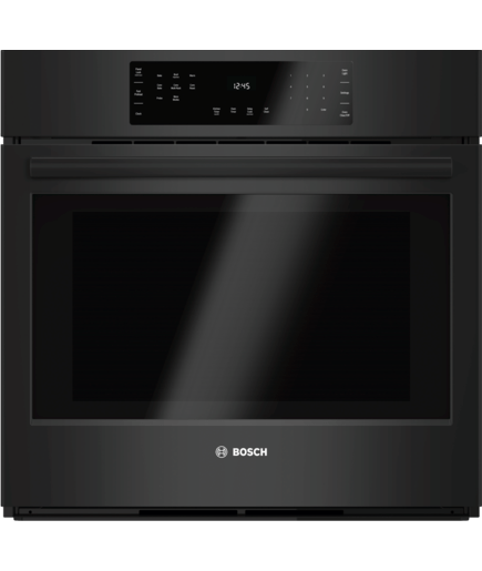 30 Quot Single Wall Oven Hbl8461uc Black 800 Series