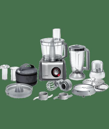 Bosch mcm68861 robot da cucina compatto grigio acciaio spazzolato - Elenco utensili da cucina ...