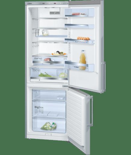 inox door frigo congelatore da libero posizionamento serie 6 kge49bi40 bosch. Black Bedroom Furniture Sets. Home Design Ideas