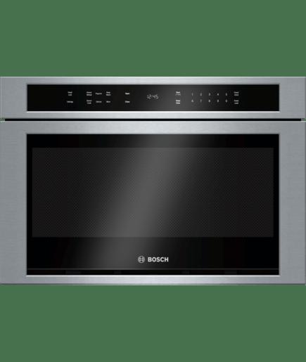 24 Drawer Microwave Hmd8451uc Stainless Steel 800 Series Bosch