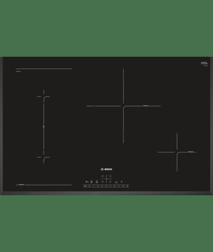 Piano cottura ad induzione 80 cm - vetroceramica - Serie | 6 ...