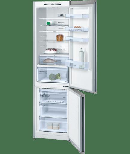frigo congelatore da libero posizionamento inox