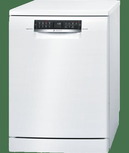 Supersilence lave vaisselle 60cm pose libre encastra sous plan blanc serie 6 sms68mw02e - Lave vaisselle pose libre sous plan de travail ...