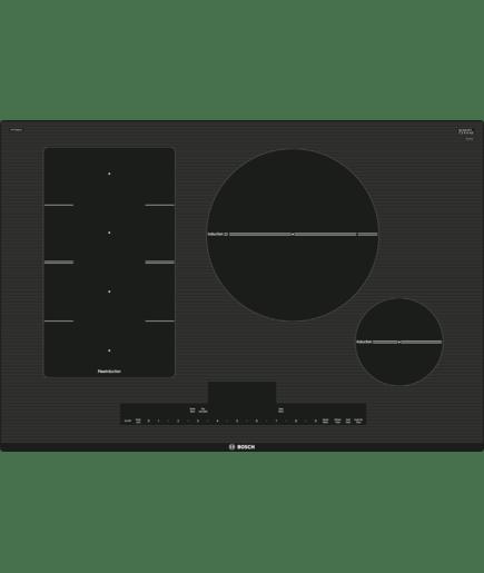30 flexinduction cooktop nitp068uc black frameless benchmark nitp068uc bosch. Black Bedroom Furniture Sets. Home Design Ideas