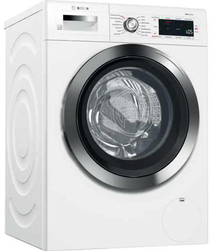 24 Quot Compact Washer With Home Connect Waw285h2uc White