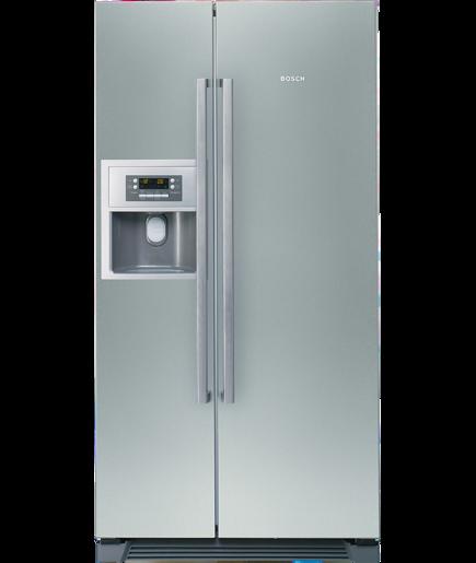 Frigo-congelatore Side by Side Inox door - Serie | 6 - KAN58A75 ...