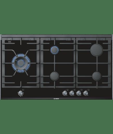 Table de cuisson gaz verre vitroc ramique 90 cm - Table de cuisson vitroceramique bosch ...