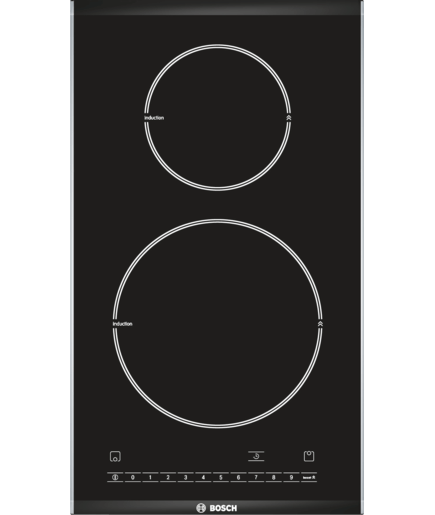 30 cm induction domino hob serie 6 pie375n14e bosch. Black Bedroom Furniture Sets. Home Design Ideas