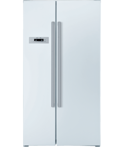 bosch kan62v00 coolspace side by side refrigerator. Black Bedroom Furniture Sets. Home Design Ideas