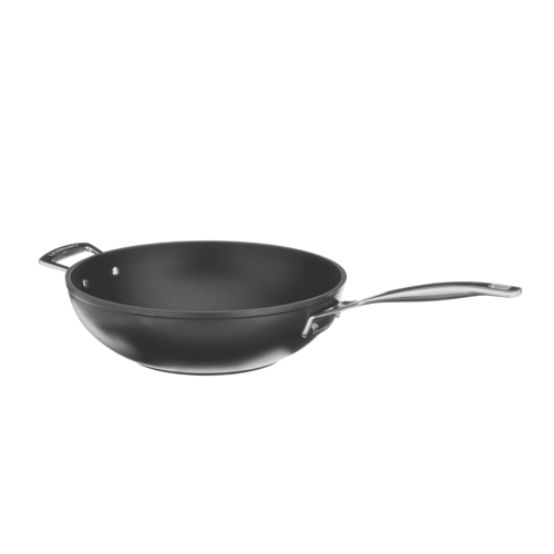 bosch 00467171 wok le creuset aluminium wok pfanne 30 cm. Black Bedroom Furniture Sets. Home Design Ideas