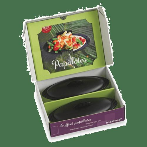 bosch 00572623 ustensile de cuisine coffret papillotes mastrad. Black Bedroom Furniture Sets. Home Design Ideas