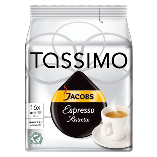 bosch 00576150 kaffee bosch tassimo t disc jacobs espresso ristretto. Black Bedroom Furniture Sets. Home Design Ideas