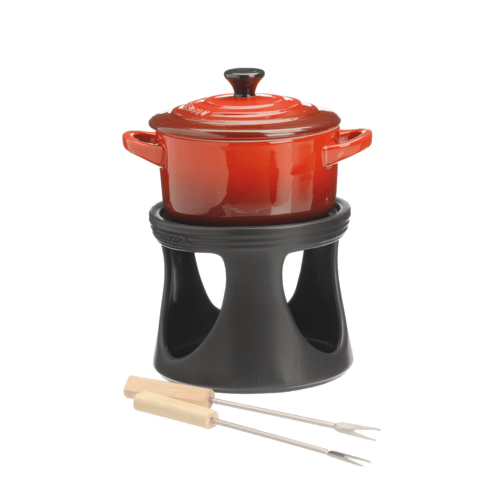 bosch 00573949 le creuset service fondue mini cocotte le creuset. Black Bedroom Furniture Sets. Home Design Ideas