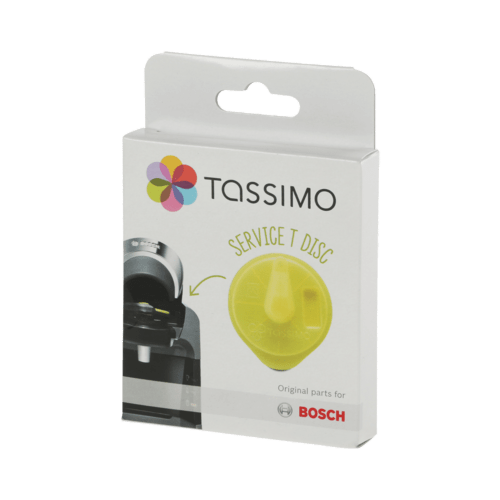 Bosch Coffee Maker Cleaning Disc : BOSCH - 00576836 - T-Disc Tassimo service T-Disc For Tassimos using yellow service disc