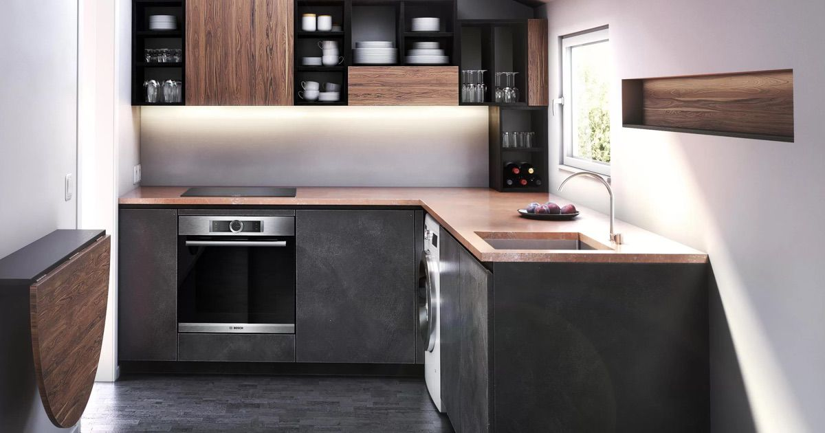 Inspiring Small Kitchen Design And Appliance Tips Bosch