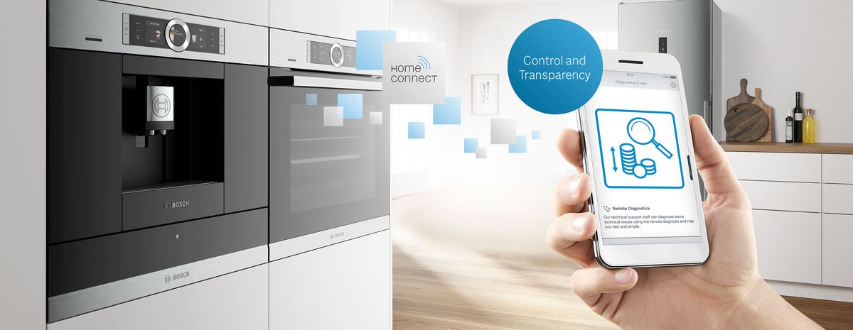 Want total cost control and transparency should your appliance ever need maintenance? A Bosch home appliance with Remote Diagnostics is your answer.