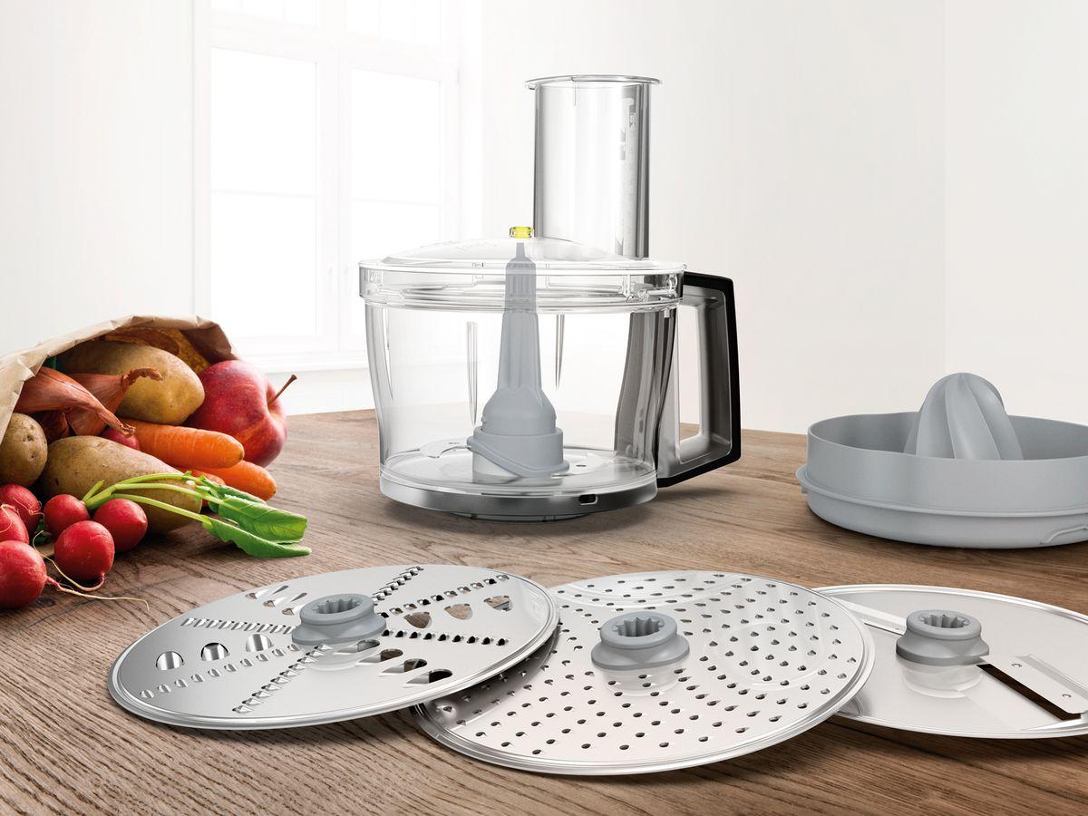 Küchenmaschine mit Zerkleinerer: Ihr Dream-Team  Bosch