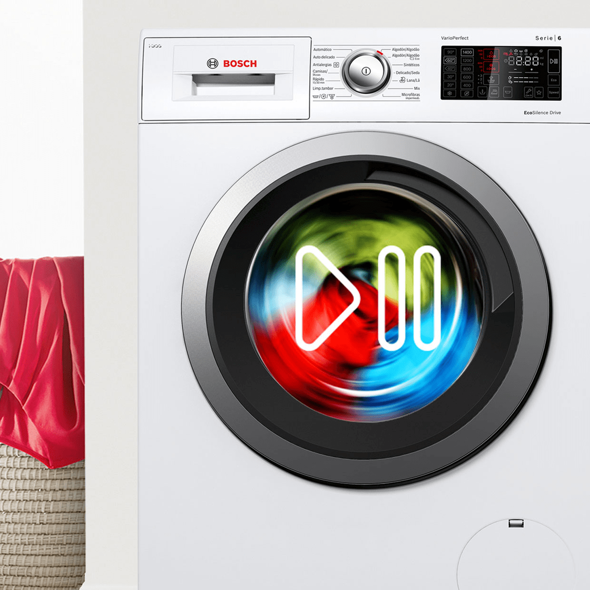 Bosch Reload Washing Machines | Add or Remove Clothes Mid Cycle