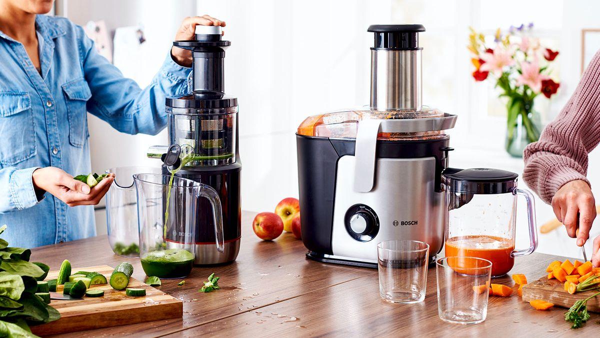 Entsafter kaufen: Zentrifugalentsafter oder Slow Juicer? | Bosch