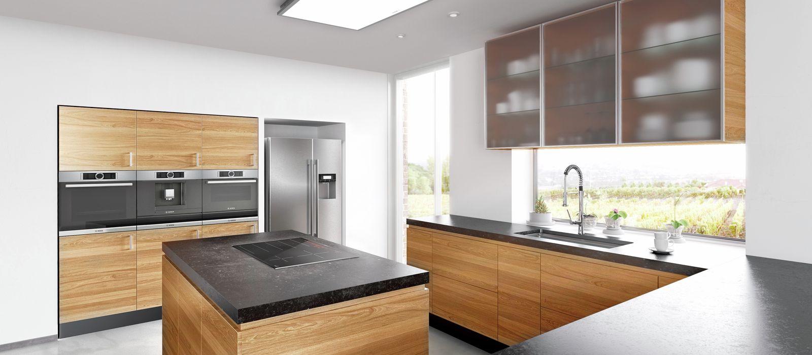 Uberlegen Holz, Glas Oder Gebürsteter Edelstahl? Wählen Sie Die Materialien Für Ihre  Küche Passend Zu Dem Gewünschten Design.