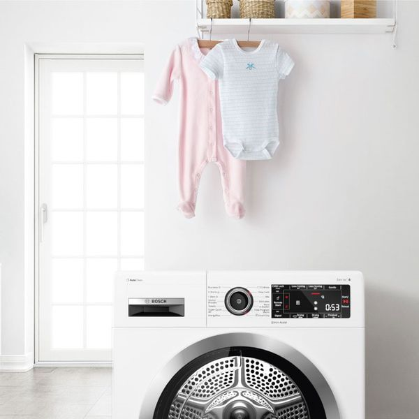 Jaka suszarka bębnowa dla rodziny z dzieckiem? | Bosch