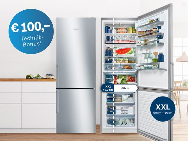 XXL-Kühlschränke & Gefrierschränke