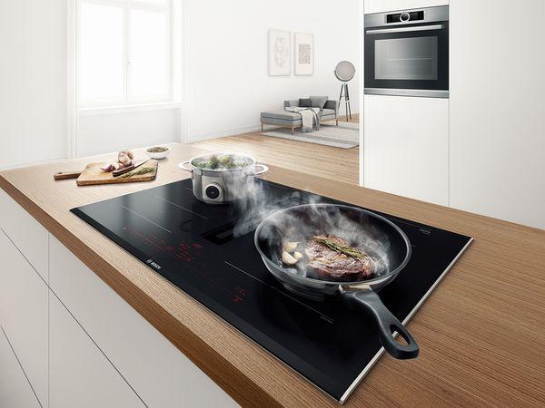 Bosch Kochfelder mit integriertem Dunstabzug Bosch Hausgeräte