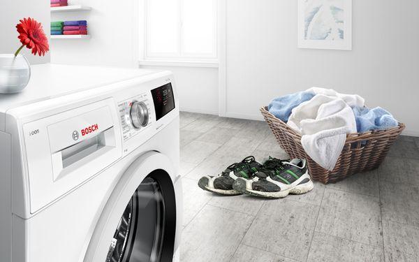 شستن کفش در ماشین لباسشویی بوش