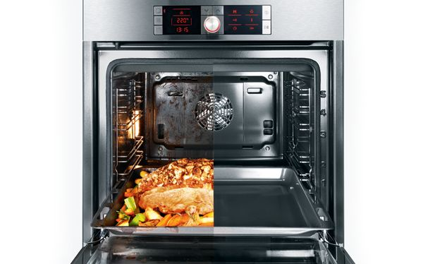 90cm Serie 6 Pyrolytic Built-In Oven by Bosch