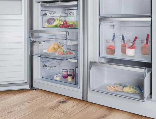 Side By Side Kühlschrank Display : Bomann kg ix side by side kühlschrank für u ac inkl vsku