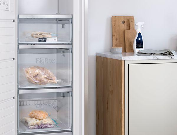 Mini Kühlschrank Mit Gefrierfach Für Pizza : Gefrierschränke bosch
