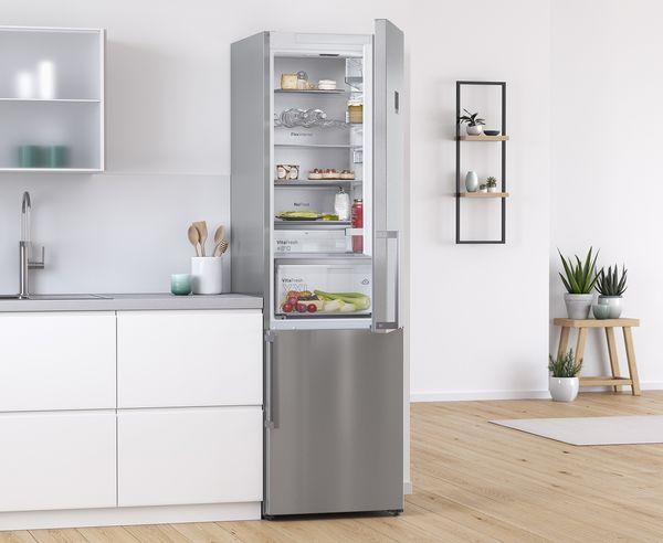 Bosch Kühlschrank Qc 421 : Kühl gefrierkombinationen bosch