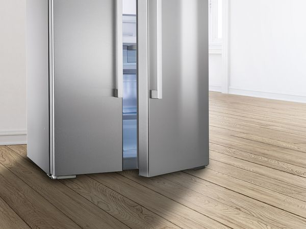 Side By Side Kühlschrank Direkt An Wand : Side by side kühlschränke Übersicht siemens hausgeräte