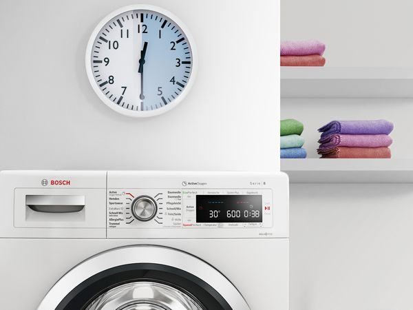 Bosch Washing machine review Time is of the essence