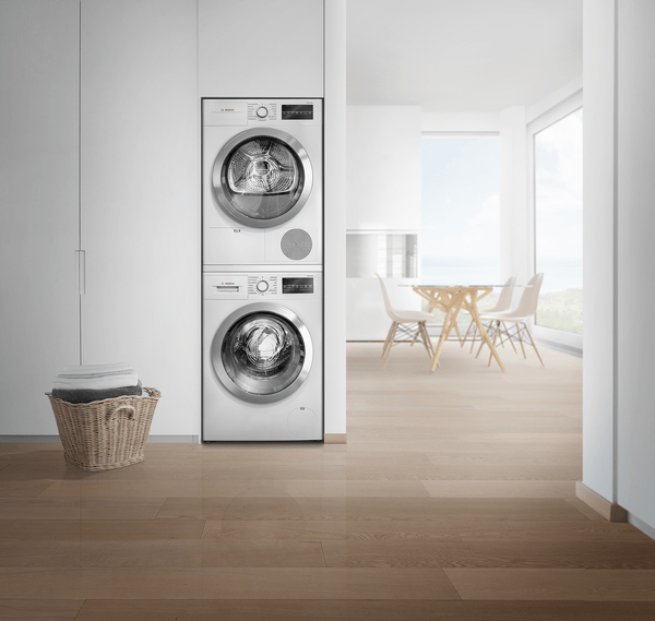 """24"""" Stackable Washer & Dryer   Compact Washer & Dryer   Bosch"""