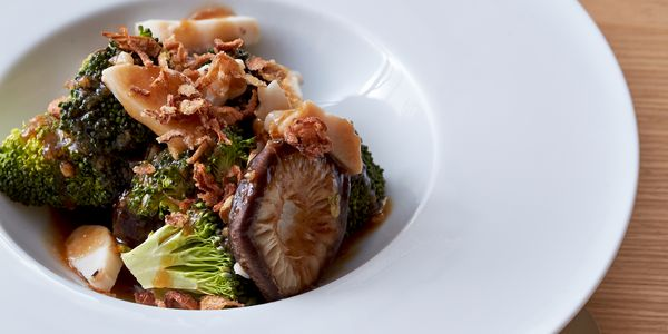 Steamed Broccoli With Mushrooms Recipe Bosch Home Appliances