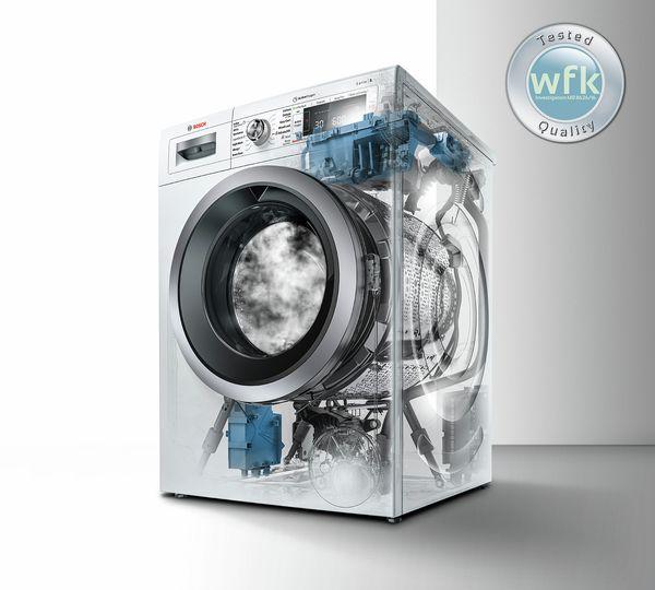 Curățenie igienică la atingerea unui buton. Fără aditivi chimici.