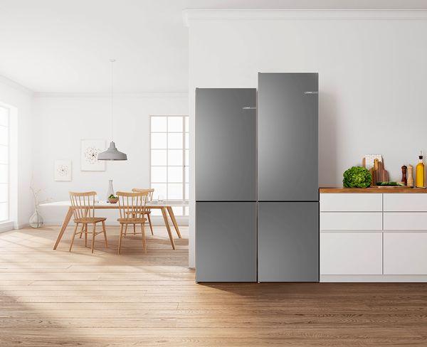 Bosch Vario Style Kühlschrank : Vario style kühl gefrier kombination u bosch hausgeräte
