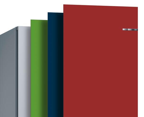 Zamijenite boju prednjeg dijela vrata na hladnjacima sa zamrzivačem od Boscha.