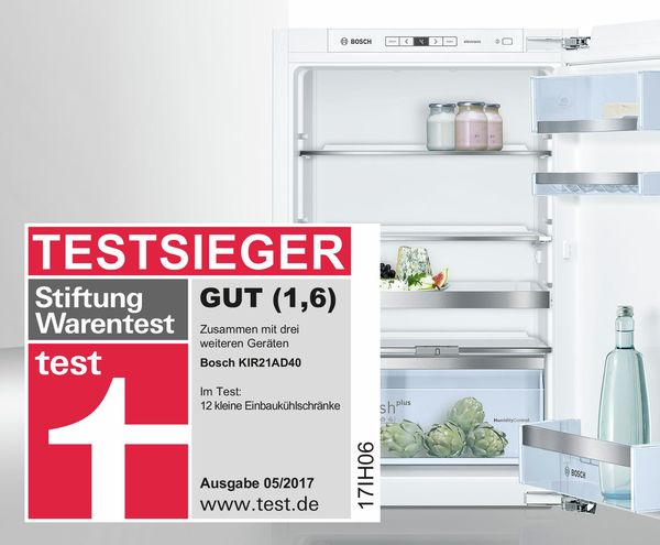 Kuhlschrank Test Stiftung Warentest Bosch