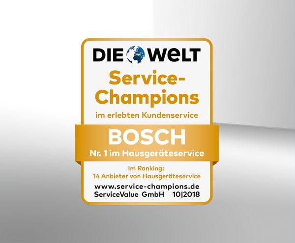 Bestnoten Auch Fur Den Bosch Service