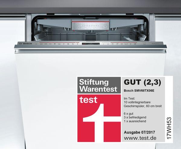 Geschirrspuler Test Stiftung Warentest Bosch