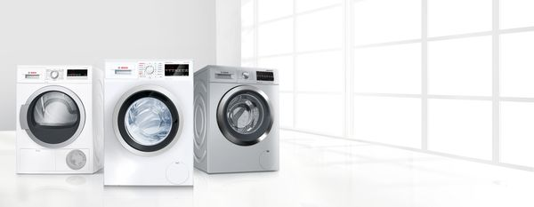 The best results with Bosch washing machines