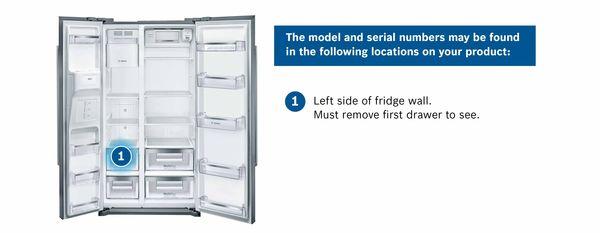 Find Your Bosch Refrigerator Serial Number Bosch