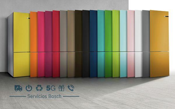 Frigoríficos De Colores Variostyle Electrodomésticos Bosch